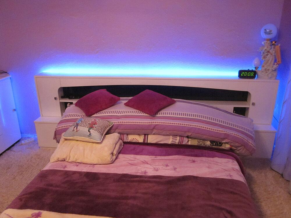 meble na wymiar łóżko